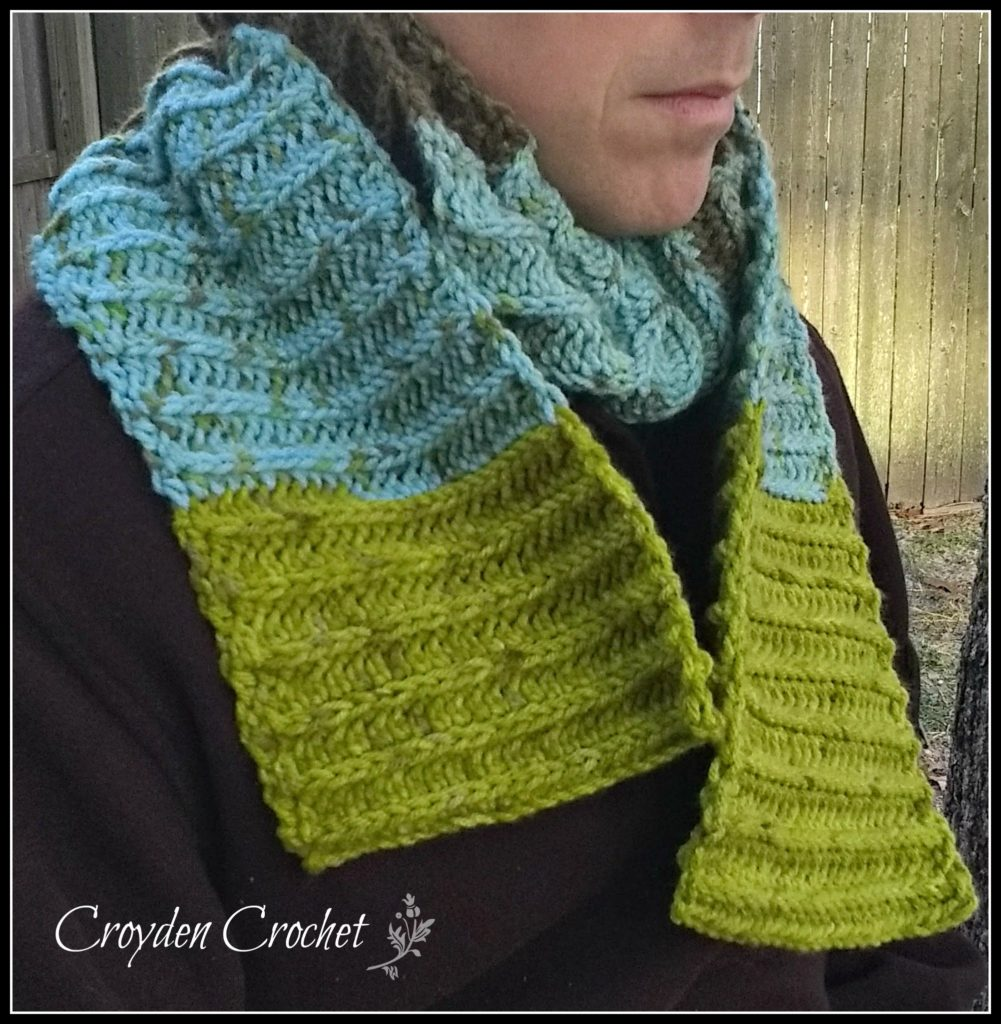 Woodlands Crochet Scarf Pattern