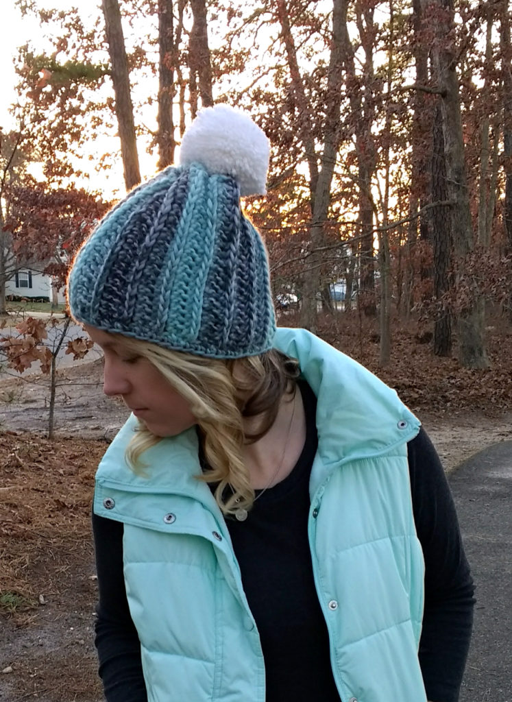 glacier frost crochet beanie pattern