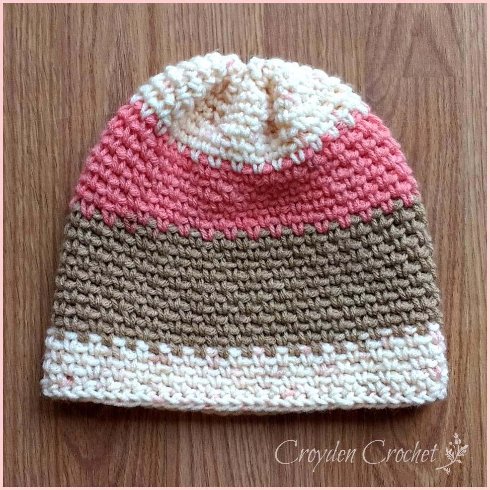 sunrise slouch crochet pattern
