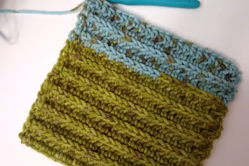 Woodlands Crochet Scarf
