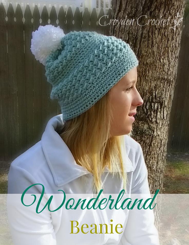 Wonderland Crochet Beanie Pattern