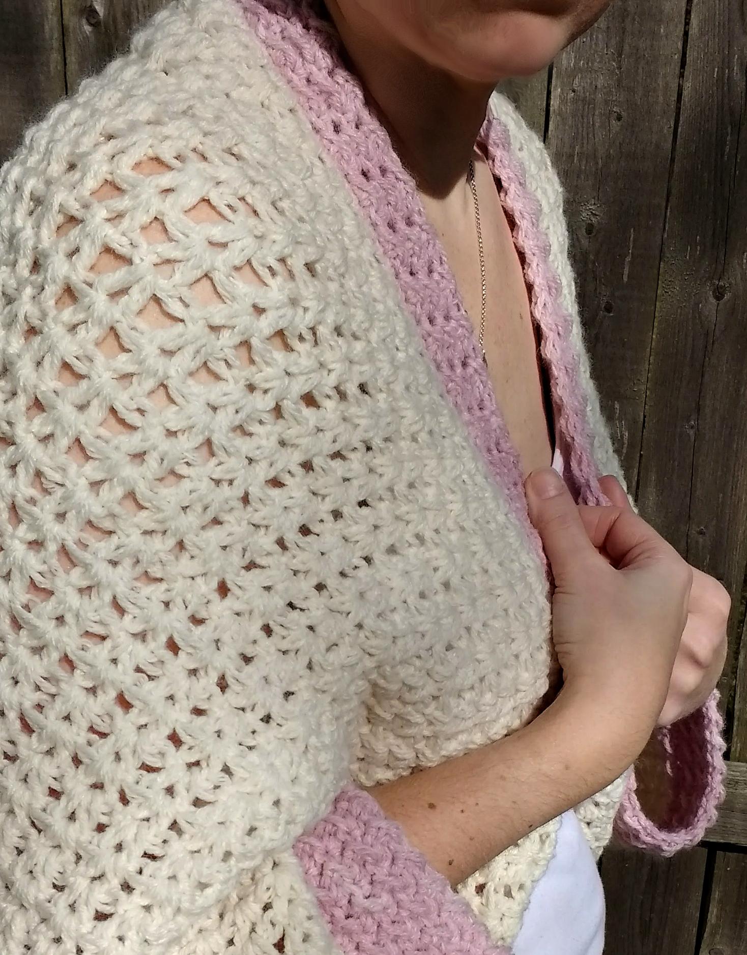 cozy cocoon cardigan pattern