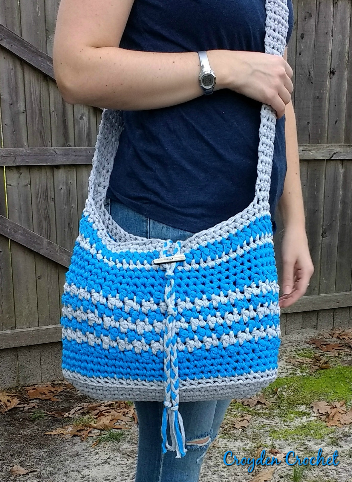 Boardwalk Crossbody Bag crochet pattern
