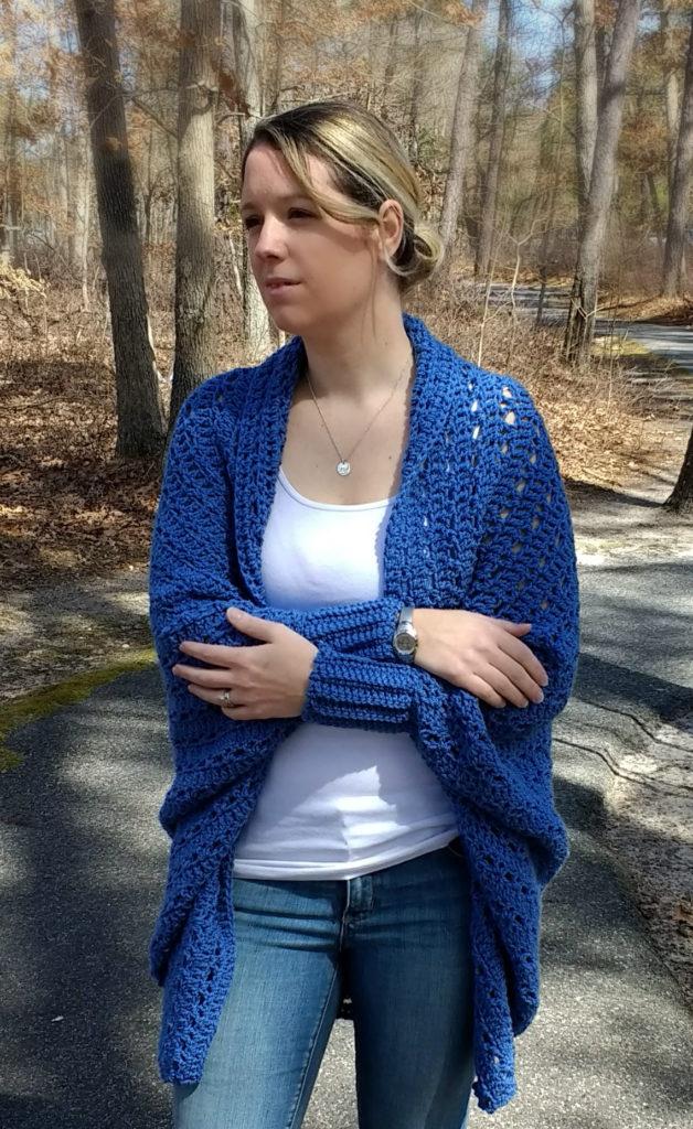 carleton cocoon crochet sweater