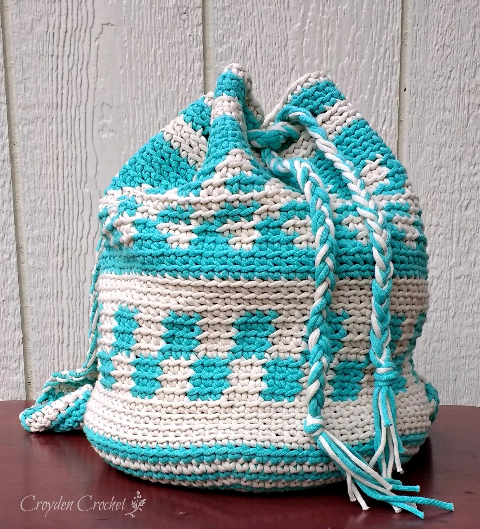 Mochila Crochet Bag Pattern