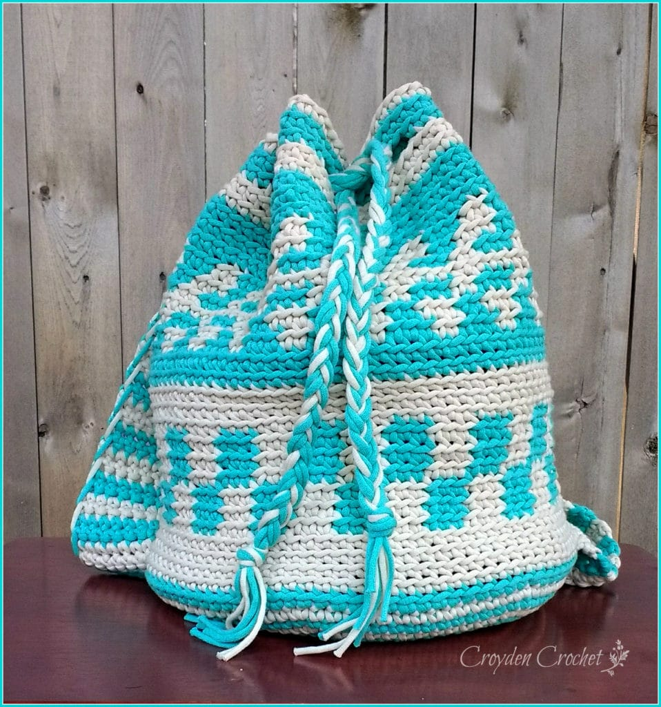 mochila crochet bag pattern