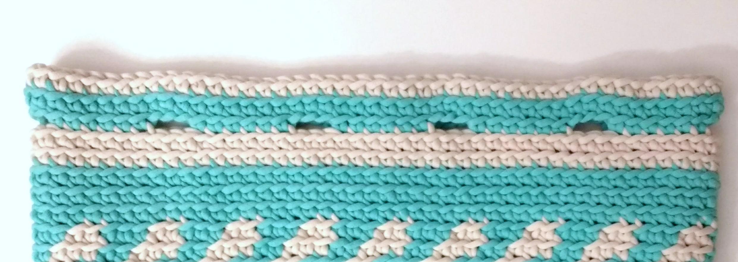 Mochila Crochet Bag