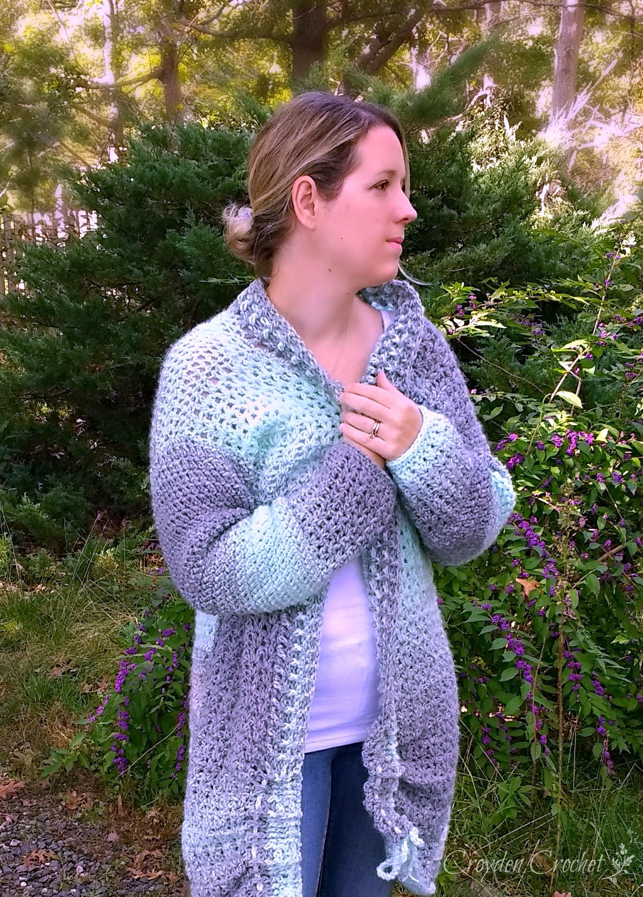 Chalet Crochet Cardigan Pattern