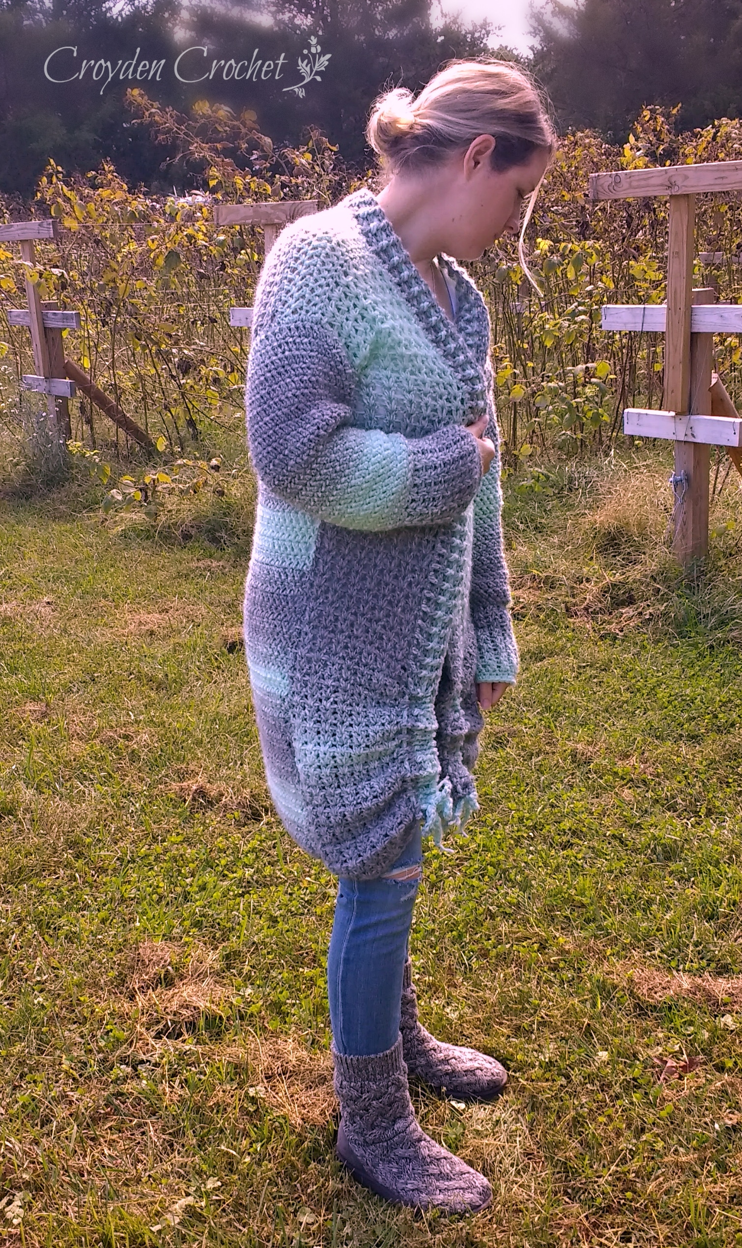 Chalet Crochet Cardigan