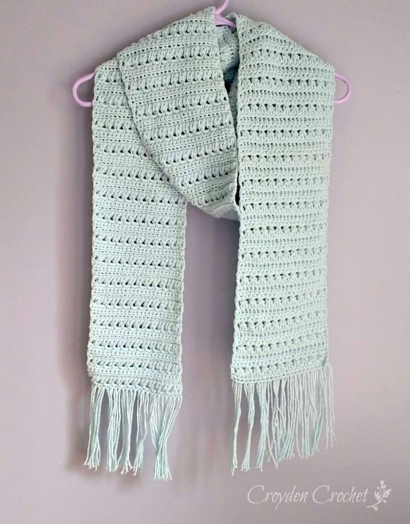 mattina crochet scarf pattern