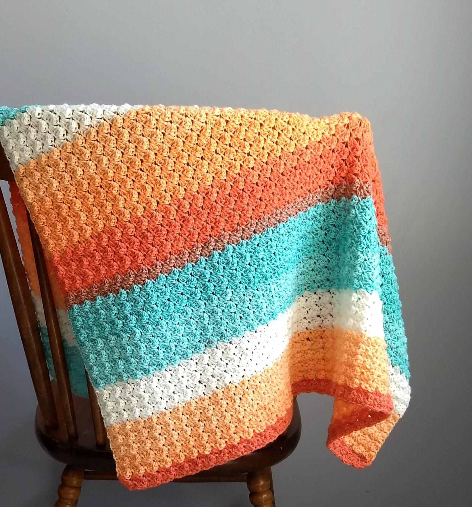 Everyday Baby Blanket A Free Pattern By Crodyen Crochet