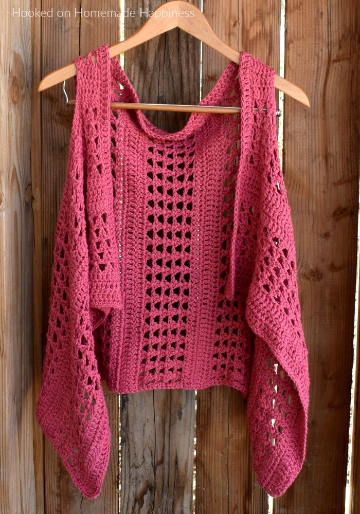 summer crochet vest patterns