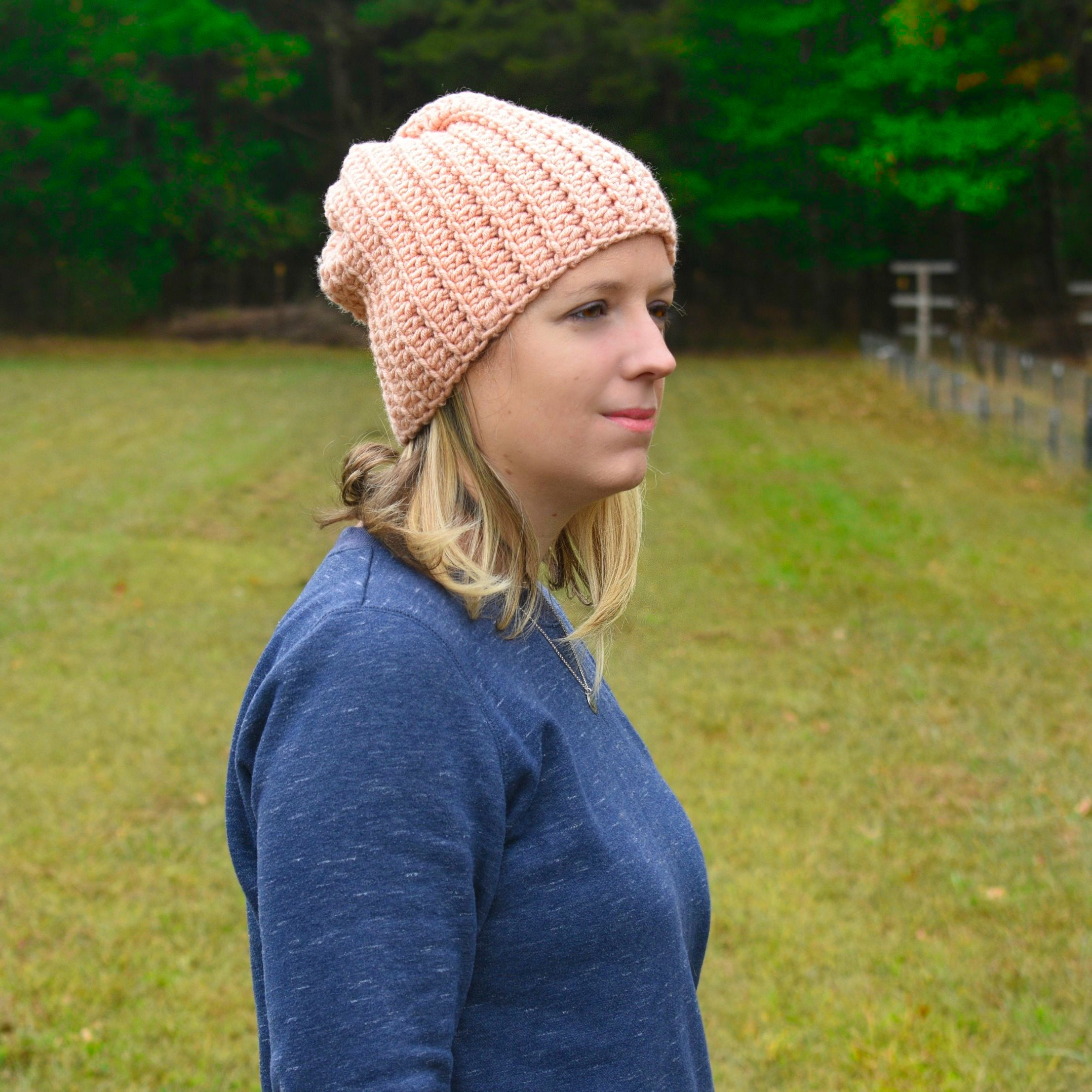 Rockport Beanie in Rows