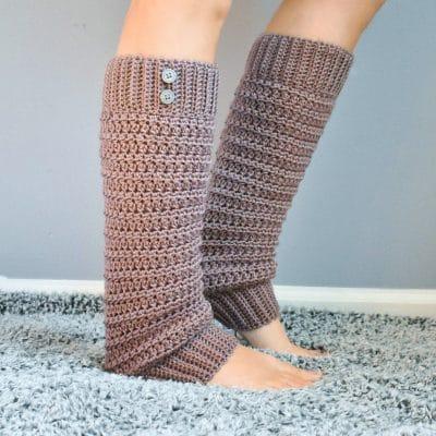 slouchy crochet legwarmer pattern