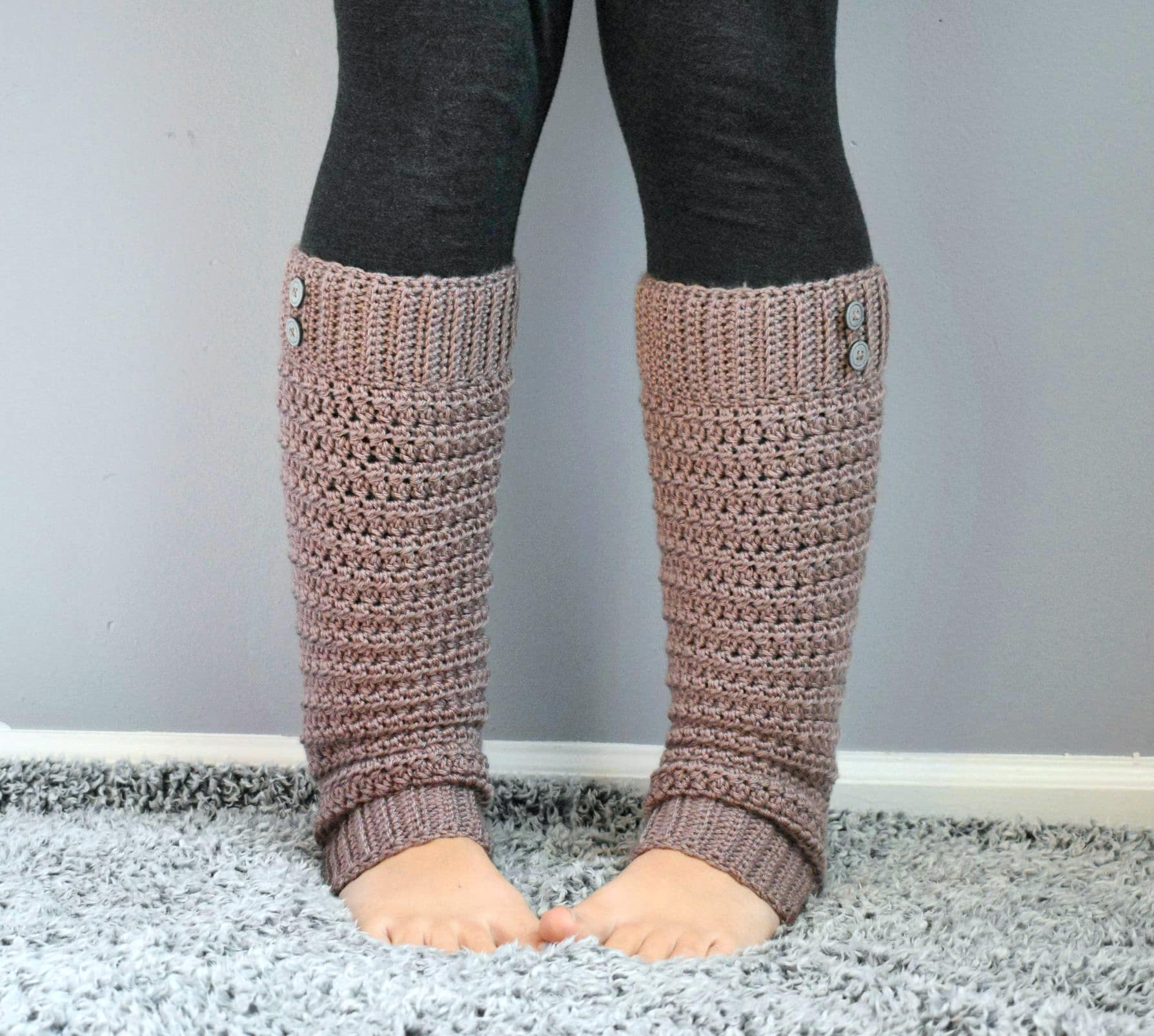 crochet slouchy legwarmer pattern