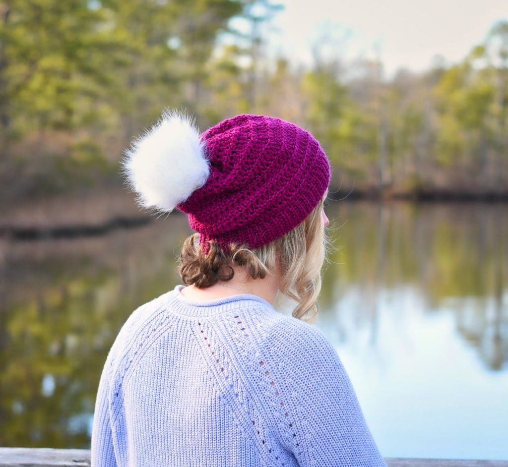 fairy tale crochet beanie