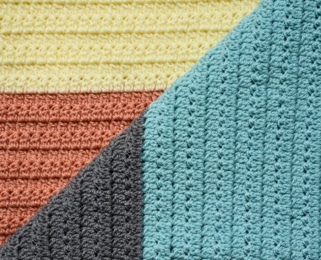 group stitch baby blanket pattern