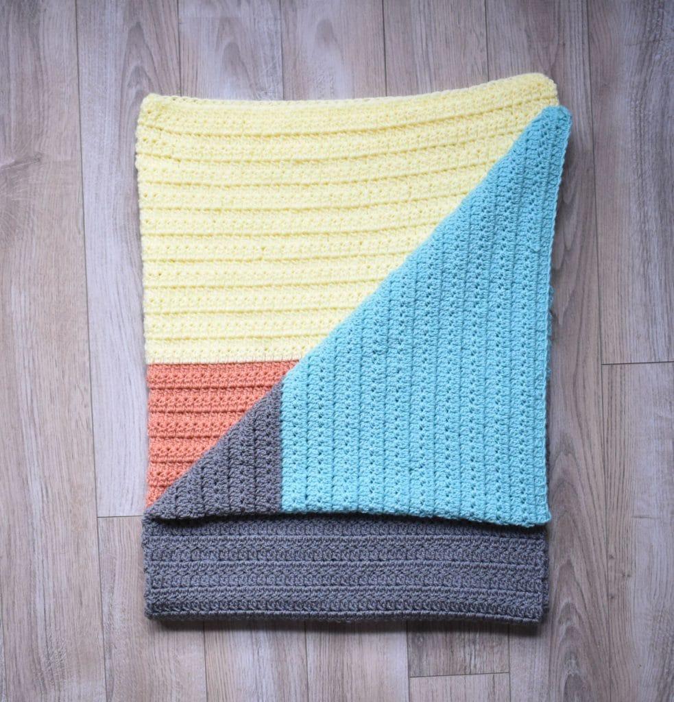 group stitch baby blanket pattern