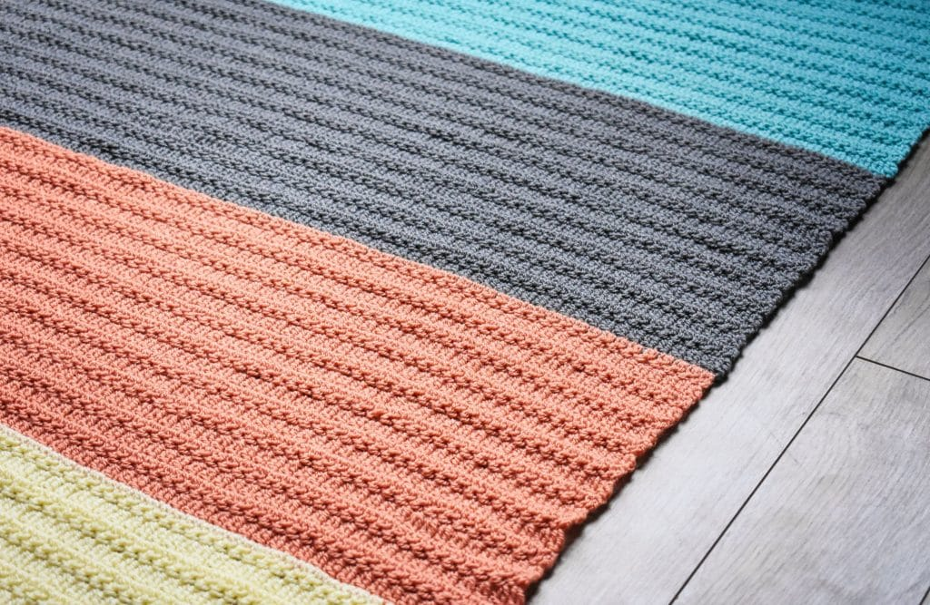 crochet group stitch baby blanket