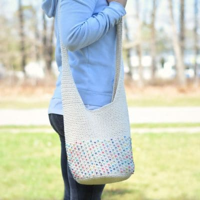 beaded crochet hobo bag pattern