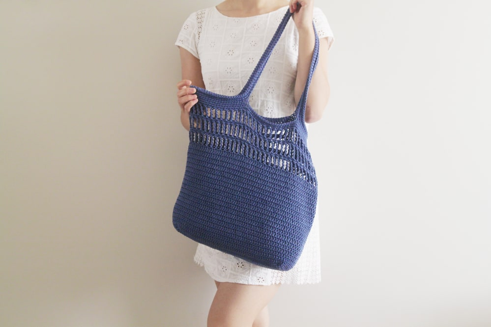 crochet free tote pattern